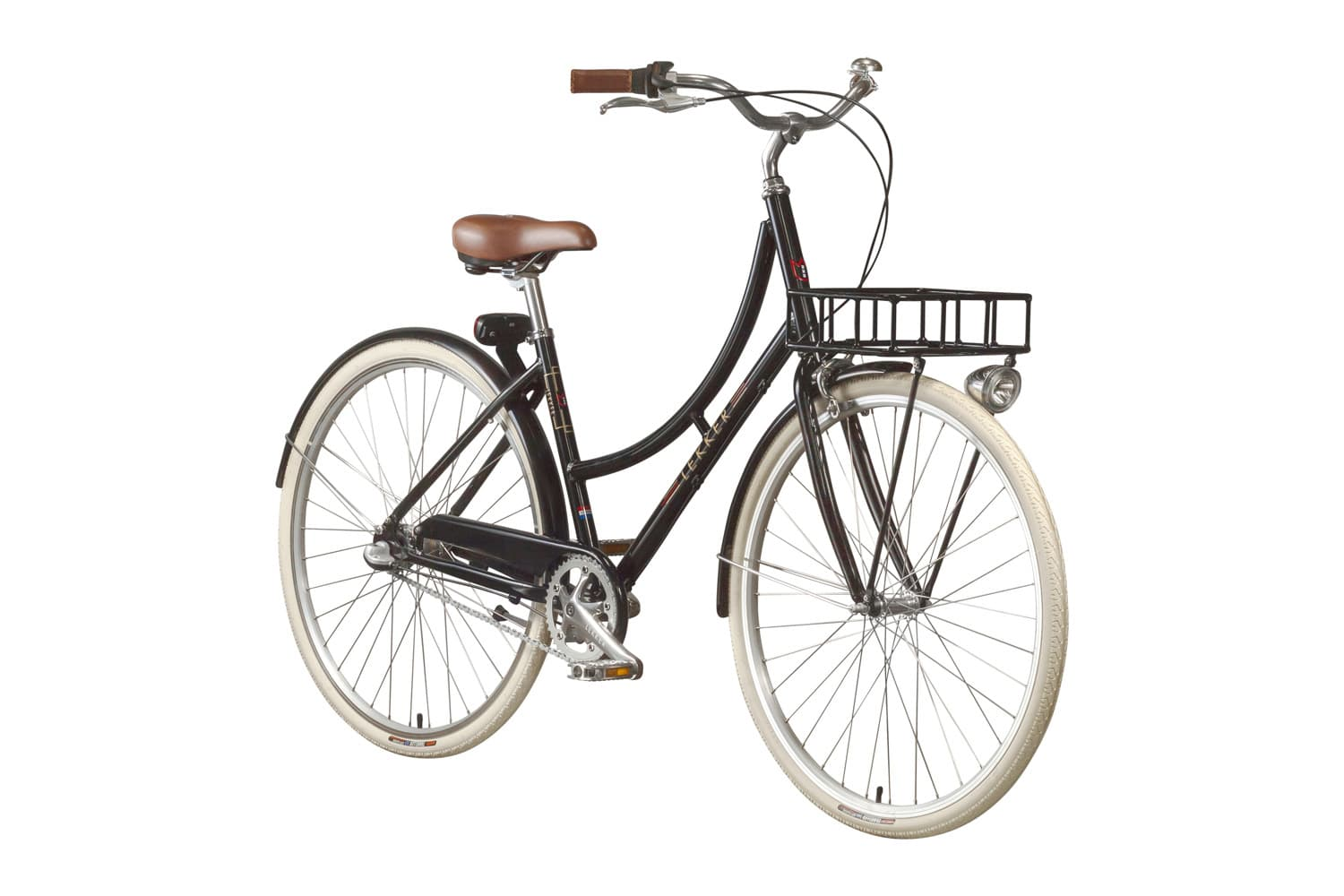 Lekker Sportief Classic Black Premium Dutch Bike Retro Vintage Bike