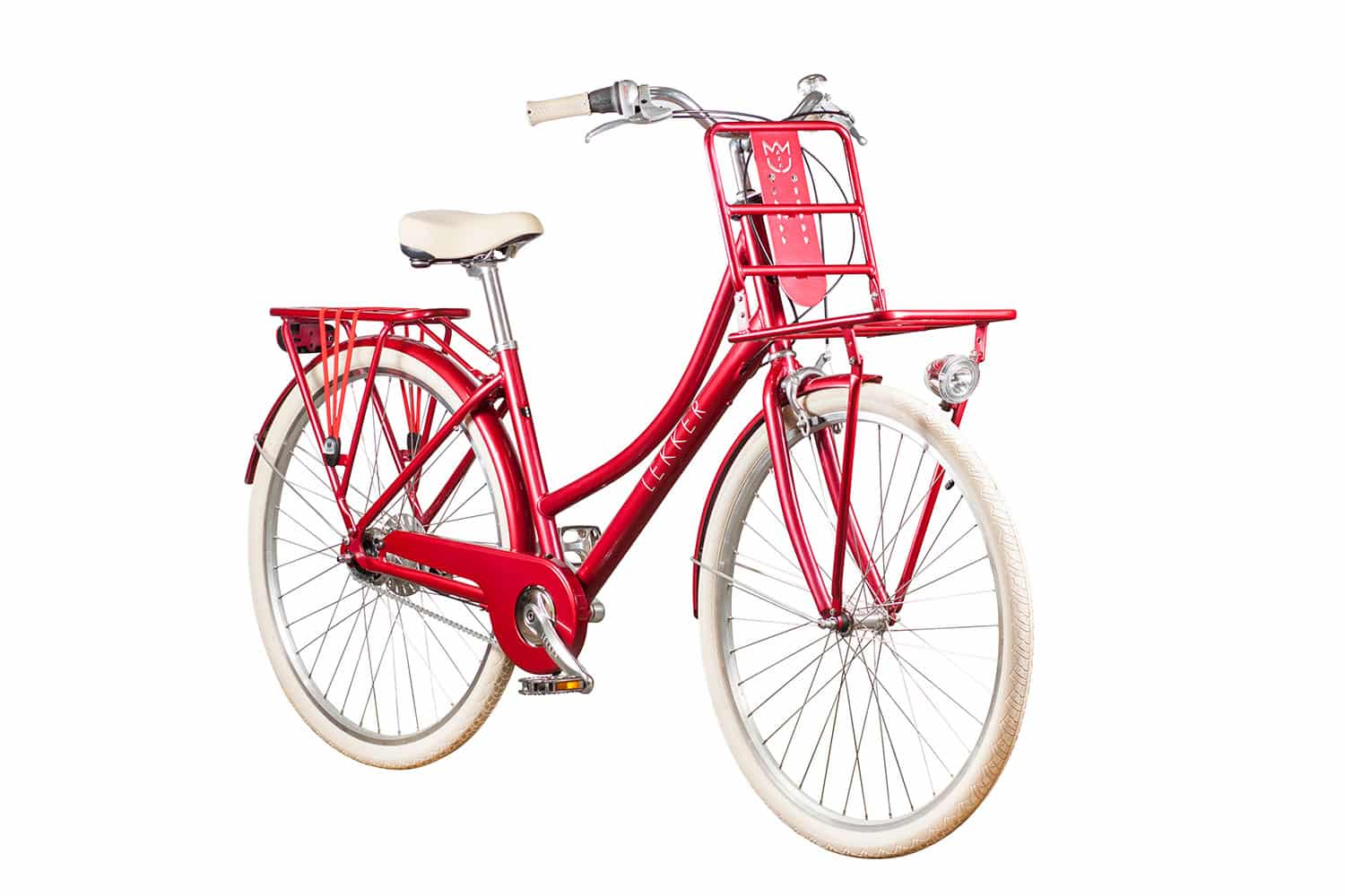 Lekker-Bikes-Jordaan-Womens-Retro-Vintage-Bike-Candy-Red-Diagonal-Front
