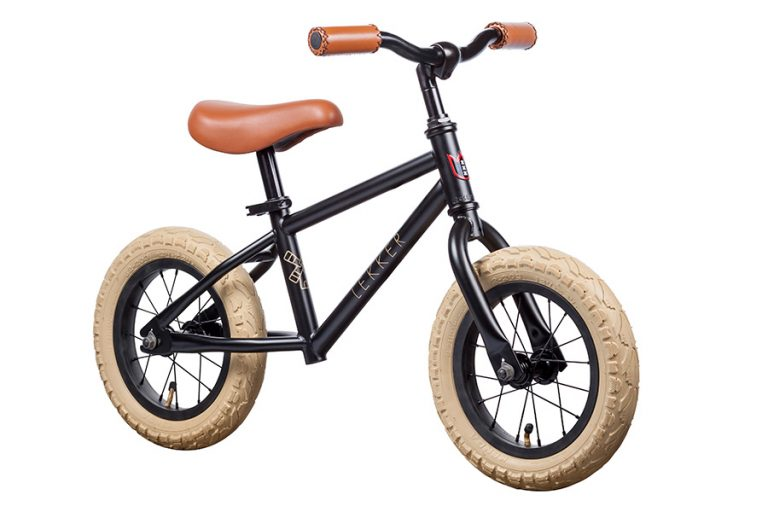 Lekker Kids Balance Bike Mightly Black
