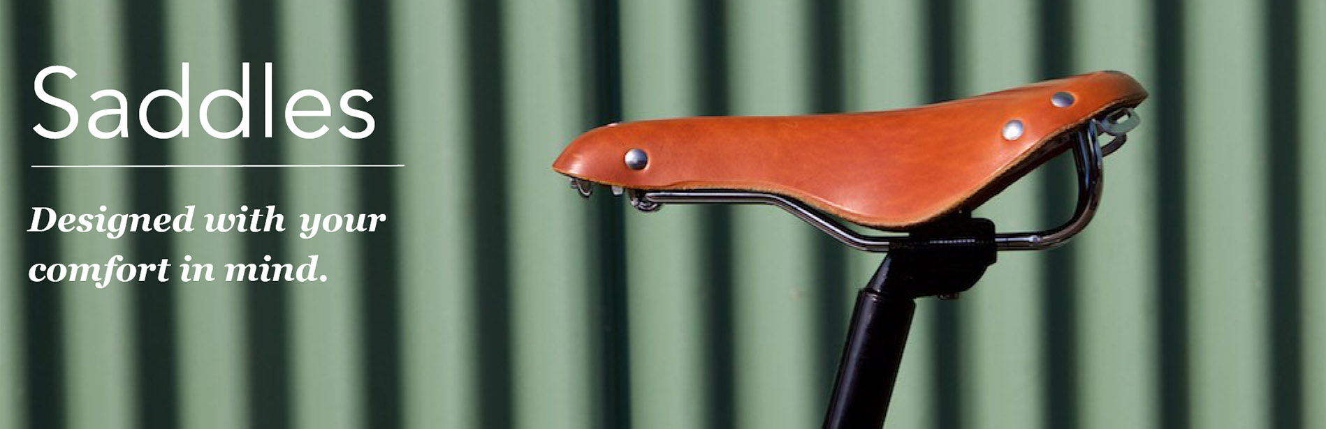 Lekker Bikes Leather Saddles