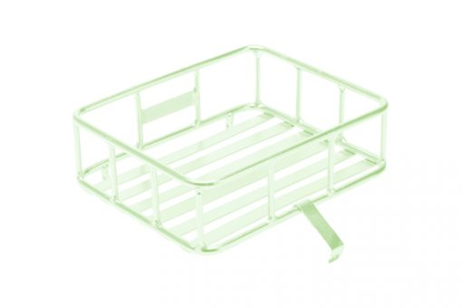 Dutch-Style-Front-Carrier-Rack-Pastel-Green_Sportief-Front-Silver-Carrier-Rack-510×340
