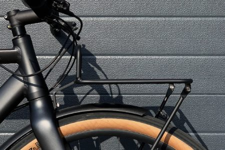 Commuter Flat Rack M1 Brushed Silver