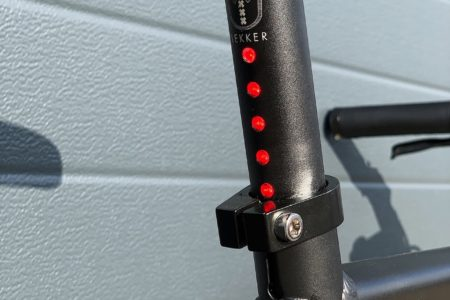 Lightskin LED seat post Matt Black