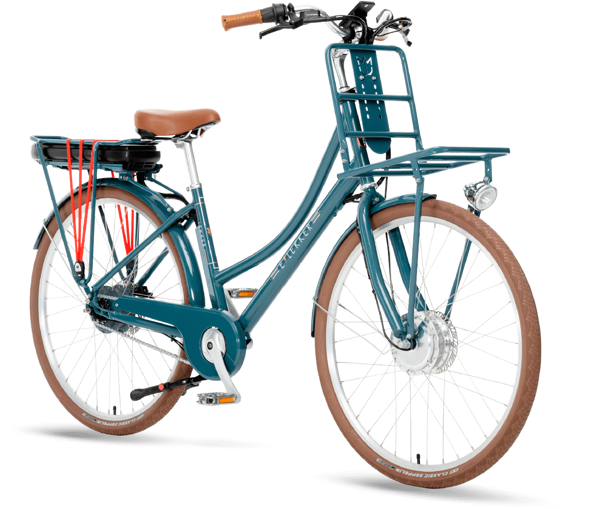 LEKKER Bikes EJordaan Ebike in denim blue